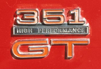 Xw Gt Grille Badge